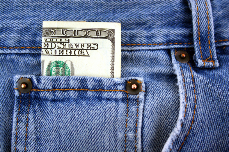 one-hundred-dollar-bill-in-jeans-pocket